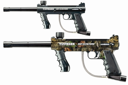 Tippmann 98C Camouflage Graphics