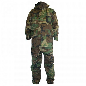 Костюм Камуфляж MP Overall (Separate) with Hood Woodland Camo