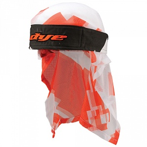 Dye Head Wrap Airstrike Orange/Wht