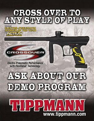 Маркер Tippmann Crossover Black