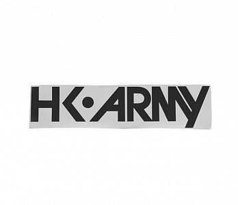 Наклейка на автомобиль HK Army TYPEFACE Car Stiker Black