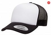 Кепка бейсболка FlexFit 6320 Classics Curved FOAM Trucker Cap – White Front