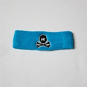 Повязка HK Army skull sweatband light blue/black