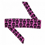 HK Army Mini Skull Pink Headband