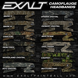 Повязка Exalt ACU Digital Headband