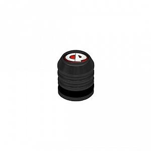 CP Fill Nipple Dust Cap, black