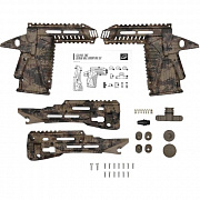 Набор тактический Planet Eclipse Ego LV1/Etek 5 Gemini EMC Kit - HDE Camo