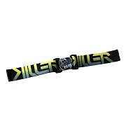 Contract Killer Goggle Strap Black/Yellow Killer