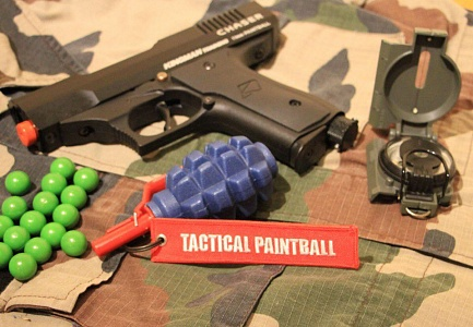 Брелок Tactical Paintball Red