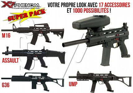 Маркер Tippmann X7 Phenom Egrip Super pack