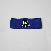 Повязка HK Army skull sweatband purple/black