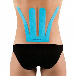 SpiderTech Lower Back Spider Blue 6 шт.