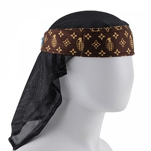 HK Army Grenade Brown Headwrap