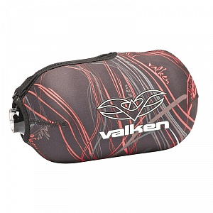 Чехол Valken Crusade Bottle Cover Static Red, 68