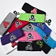 HK Army skull sweatband black/white