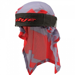 Dye Head Wrap Airstrike Gry/Red