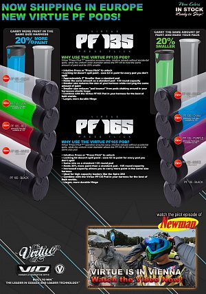 Туба Virtue PF135 Paintball Pod