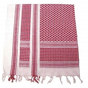 Арафатка Voodoo  Scarves (white/red)