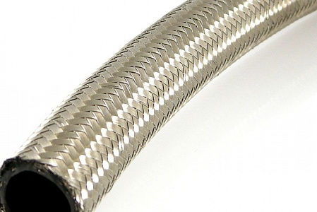 Stainless Steel Braided 12""