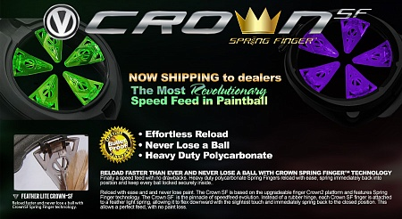 Virtue Crown SF Speed Feed Dye Rotor