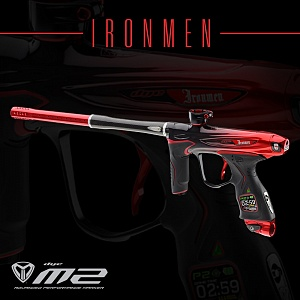 Маркер DYE M2 MOSAIR - LOS ANGELES IRONMEN EDITION