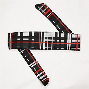 HK Army Plaid Grey Headband