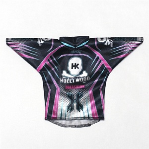 HK Army MR BOTTLE JERSEY purple/teal