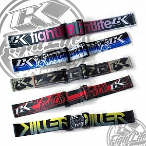 Contract Killer Goggle Strap Grey/Pink Fight Life