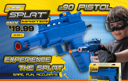Маркер JT SplatMaster Z90 Blue .50cal - Box C2