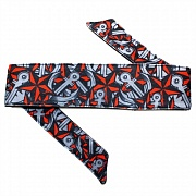 HK Army Nautical Red Headband