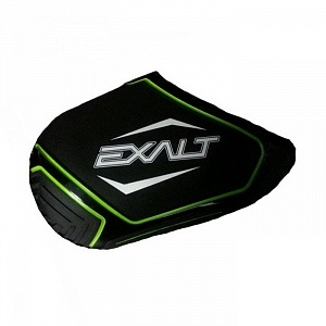 Чехол Exalt Tank Cover Small - Black with Lime with White 45CI-50CI