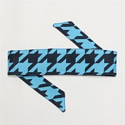 HK Army Hounds Tooth Blue Headband