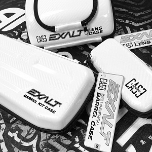 Чехол для очков Exalt Carbon Sunglasses Case - LE White